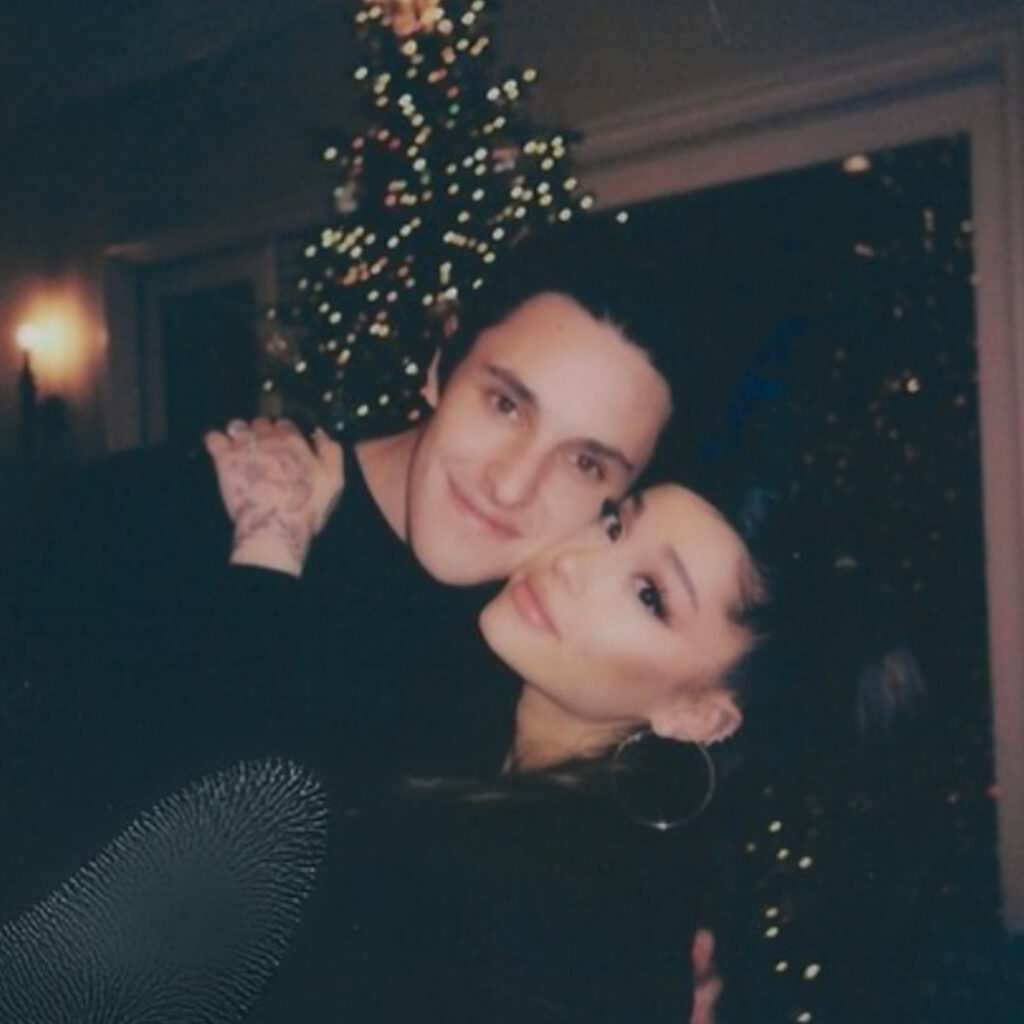 Ariana Grande Marries Dalton Gomez in a Private Ceremony. The couple got engaged back in December and are officially stuck together.