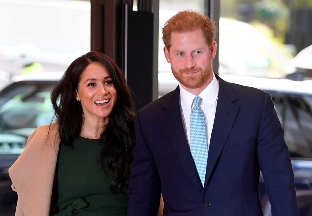 Markle Appear in Harry's New Docuseries