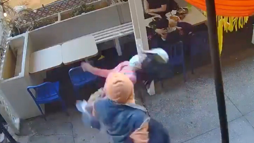 Alexander Wright sucker punched a 55-year-old Asian woman. He has 41 priors! Why isn't he staying in jail?