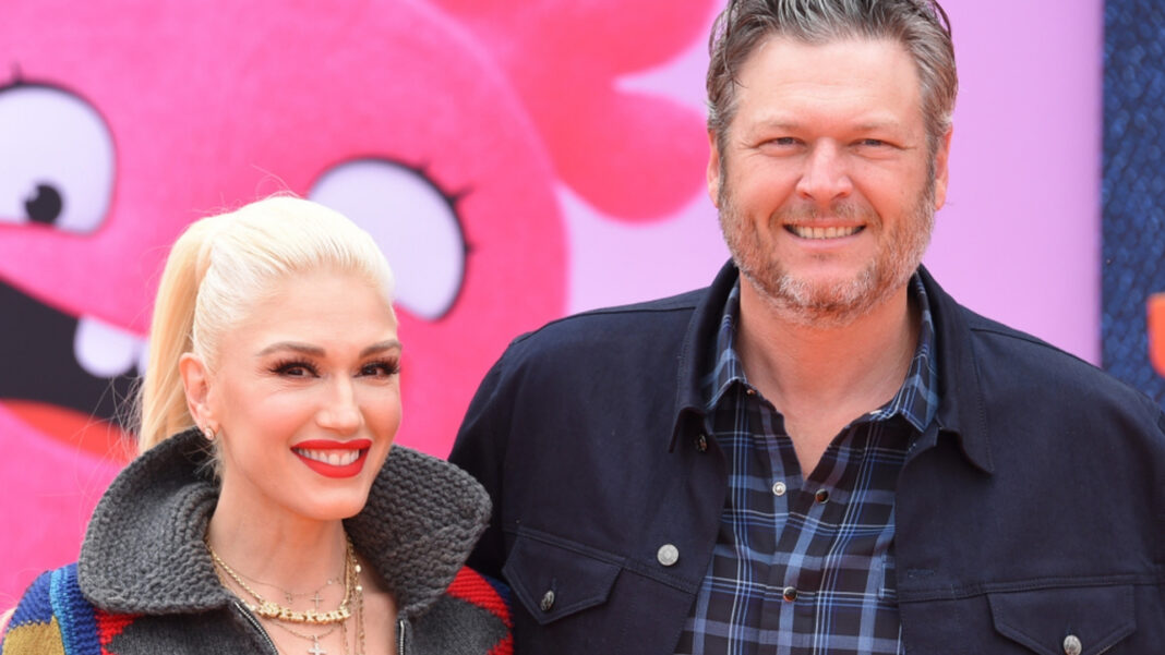 Did Blake Shelton and Gwen Stefani just have a secret wedding? Fan theories go wild after photos capture what could be Gwen's wedding band.