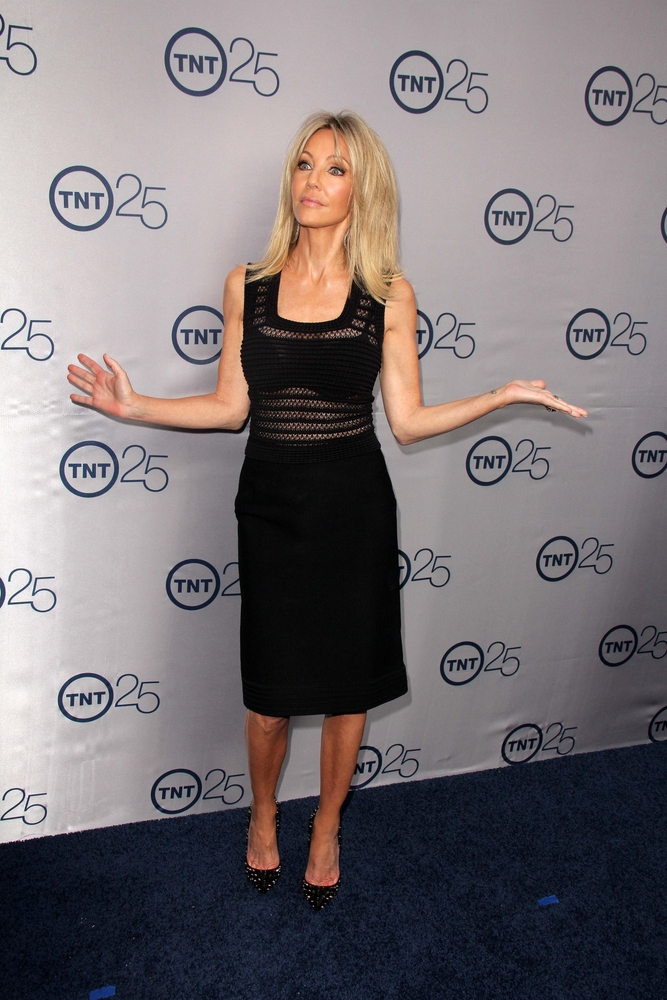Heather Locklear was skin and bones at TNT's 25th Anniversary Party in July 2013.