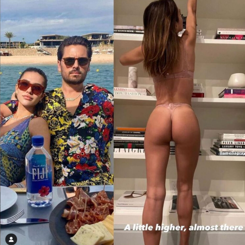 Is Amelia Hamlin's relationship with Scott Disick inappropriate? The couple posts a series of PDA-filled pictures and revealing photos.