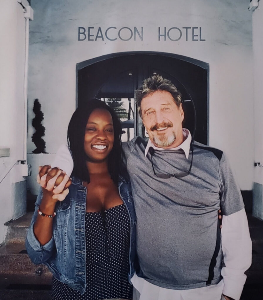 Janice McAfee warned that John McAfee would not get a fair trial, three days before he was found dead in a Barcelona jail.