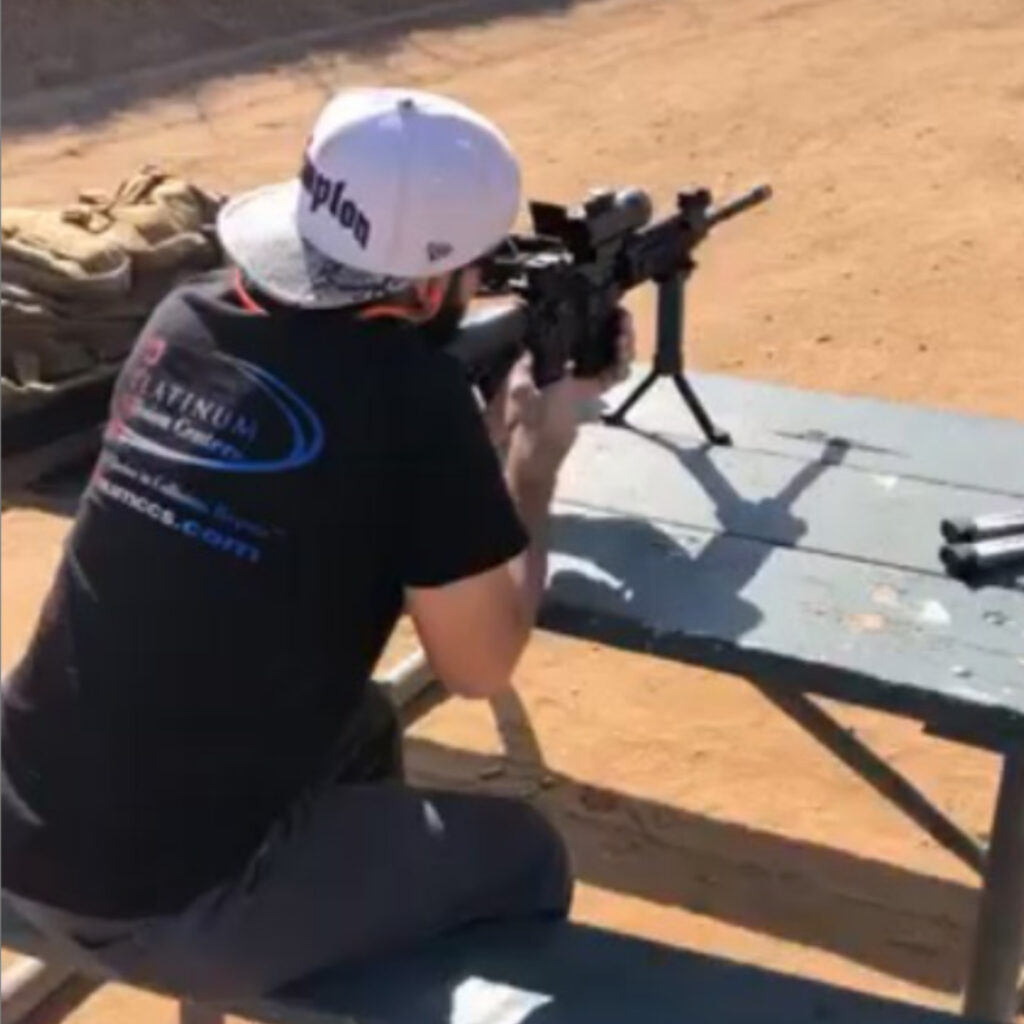 Marcus Anthony Eriz is a 'gun nut' who posted dozens of pictures of firearms on his Instagram.