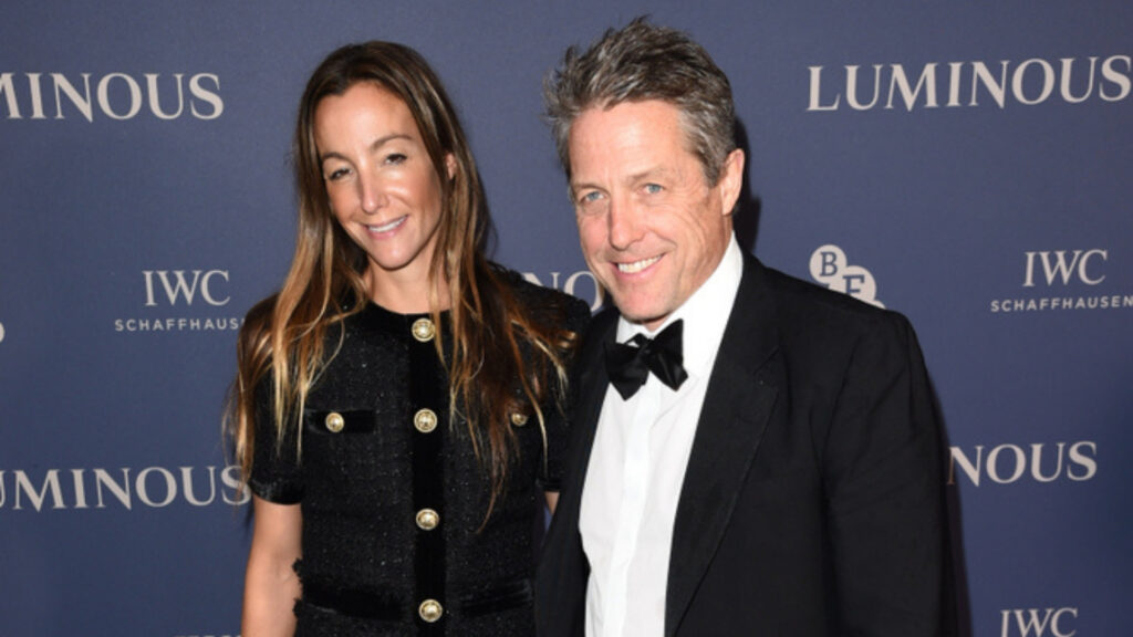Rumors alleged that Hugh Grant married to make airport customs easier for Anna Eberstein. He shuts them down.