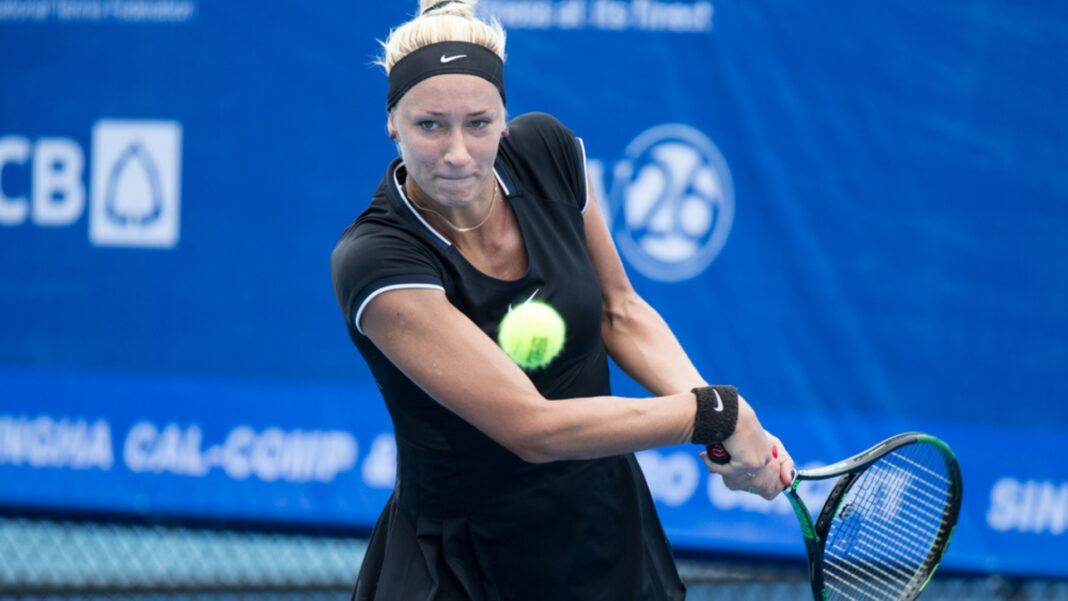 Yana Sizikova Arrested for allegedly fixing a tennis. Will the doubles specialist be banned?