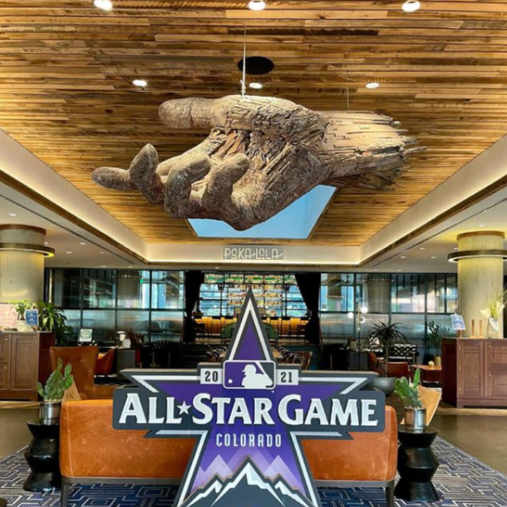 """A hero maid from the Maven Hotel might have saved the MLB All-Star game from a """"Vegas-style"""" massacre. Police arrested four suspects after finding huge arsenal in eighth floor room."""