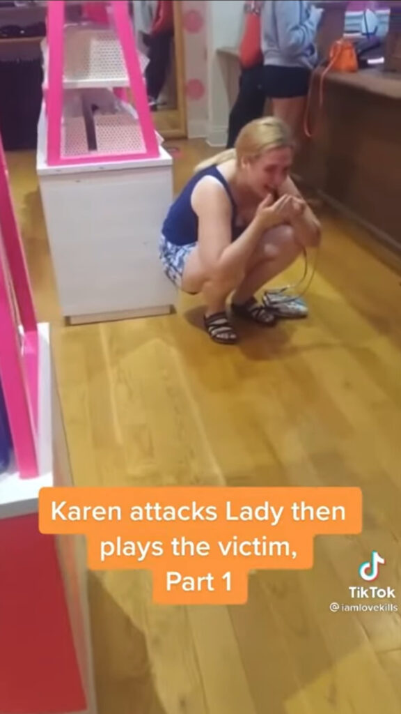Abigail Elphick is the Victoria's Secret Karen. Lady throws bizarre tantrum at the Short Hills Mall in New Jersey.
