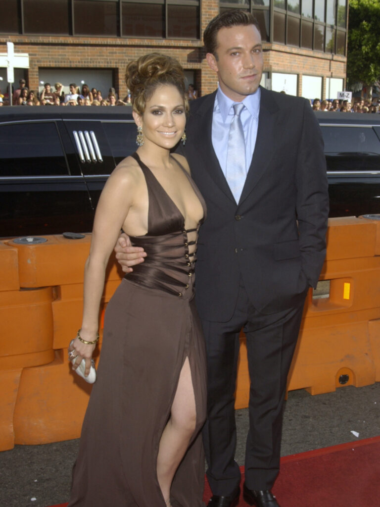 Ben and Jennifer were a match made in heaven in 2002. Unfortunately, the stars were snuffed out and the relationship ended in 2004.