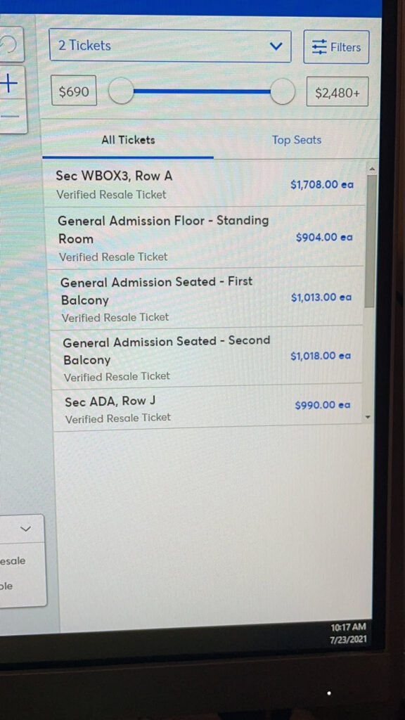 Big Time Rush ticket prices have been ridiculous! Scalpers purchase seats and resell at insane prices. Fans demand action from Ticketmaster.