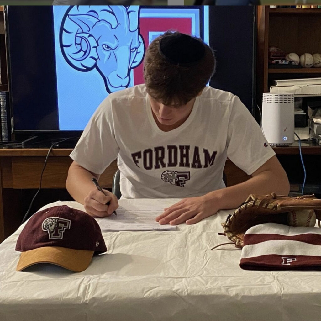 Jacob Steinmetz is an amazing pitcher with a 97 mph fastball. After committing to Fordham University, the pitcher might be the first Orthodox Jewish player in the MLB
