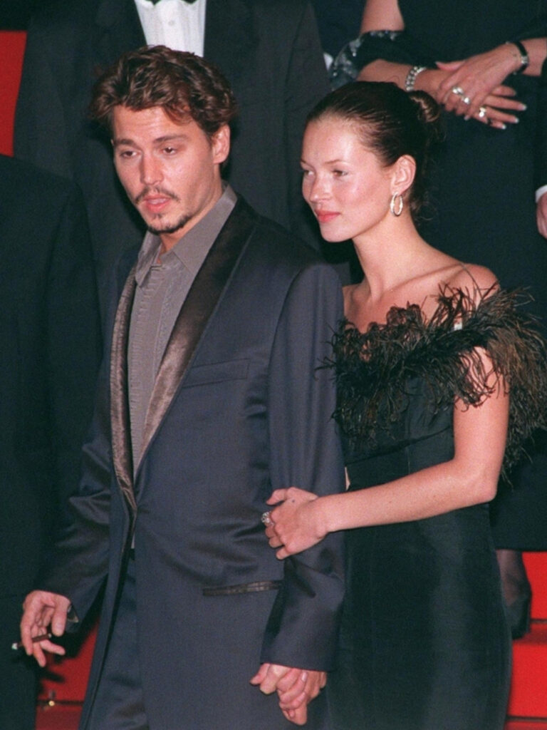 """Kate Moss and Johnny Depp were known as the """"Style King and Queen"""" of the 1998 Cannes Film Festival. The couple were wrought with love and couldn't keep their hands off one another."""