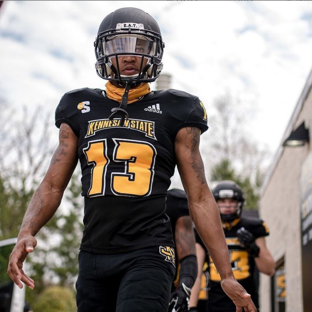 Ladarius Clardy, an 18-year-old quarterback for Kennesaw State University was found dead in the Florida Panhandle after his car was sprayed with 50 bullets.