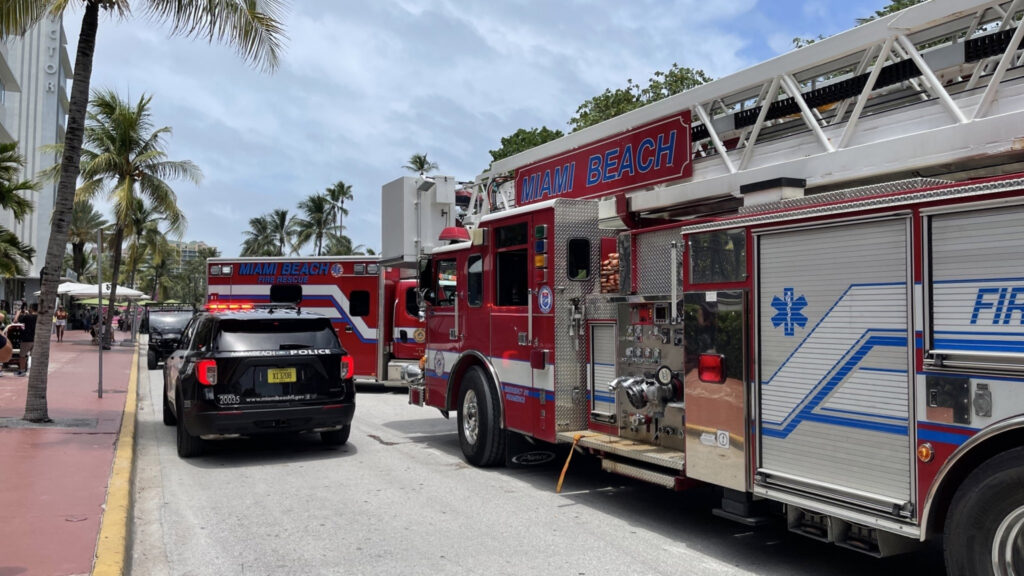 Police responded to 1116 Ocean Drive after receiving a call from housekeeping claiming two men were dead in one of the hotel rooms.