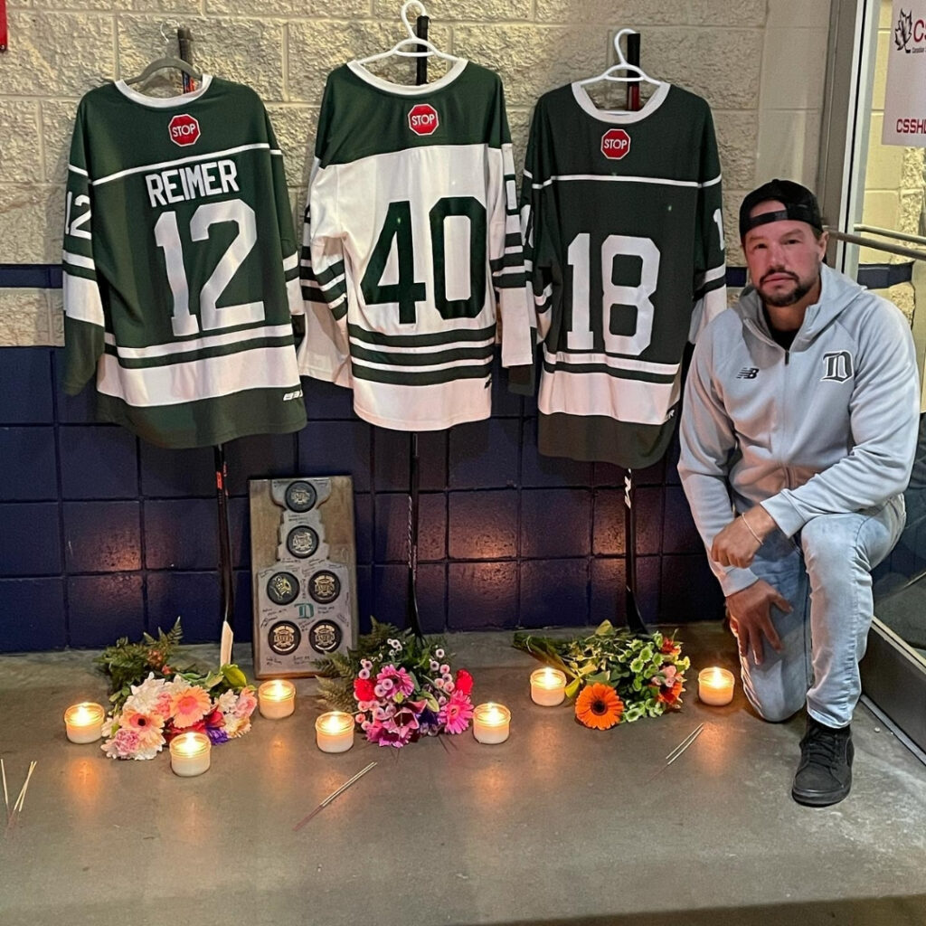 """Ronin Sharma, Parker Magnuson, and Caleb Reimer were mourned over the weekend after a fatal car crash claimed their lives. The boys were hockey hopefuls and their deaths rocked the """"small"""" hockey community."""