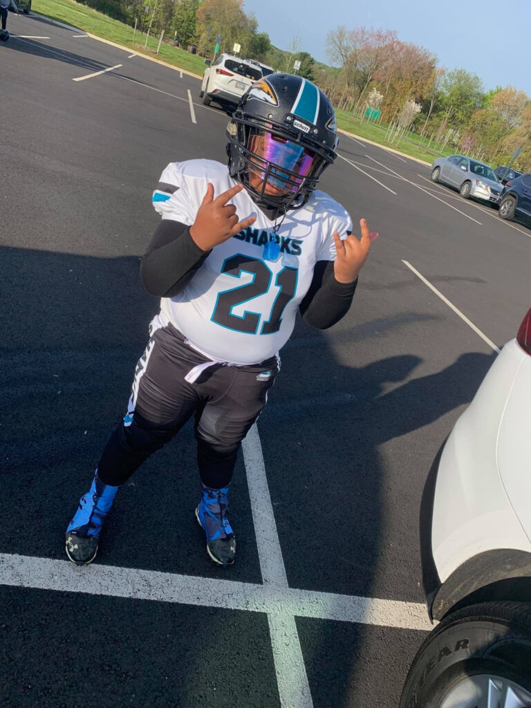 What happened to Peyton Evans. Youth football star died Tuesday after shooter opened fire on his apartment complex.