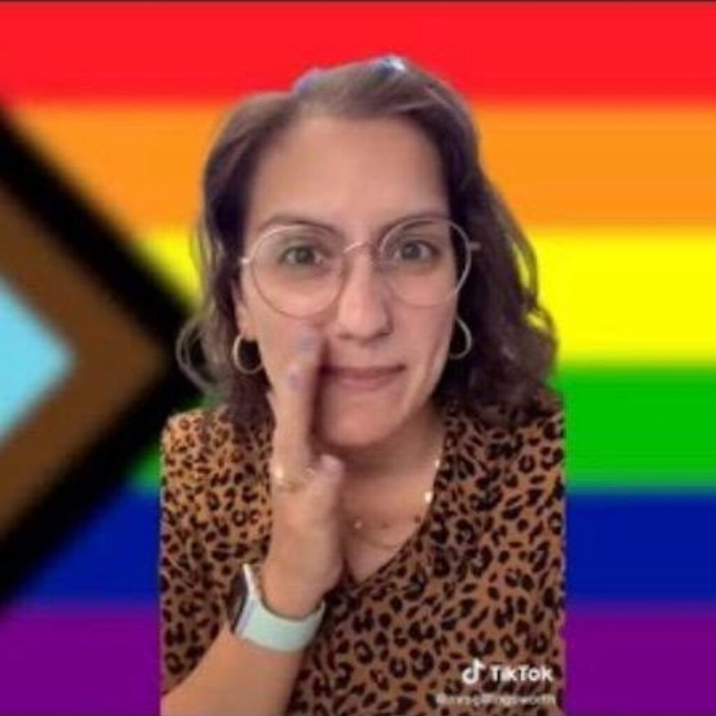 Why is Kristin Pitzen facing backlash? California teacher allegedly hid her classroom's American flag and told students to pledge allegiance to the Pride flag instead.