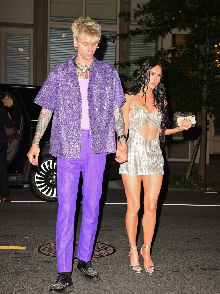 Is Megan Fox pregnant? Fans speculate that the actress and her boyfriend, Machine Gun Kelly, are expecting.