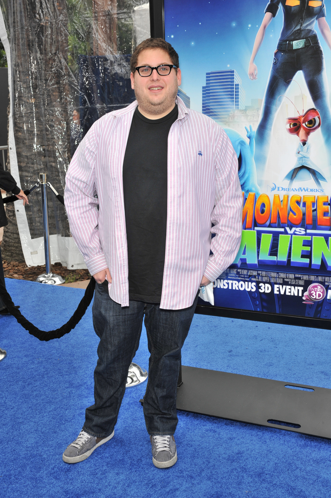 """Jonah Hill at the Los Angeles premiere of """"Monsters vs. Aliens"""" at the Gibson Amphitheatre, Universal Studios, on March 22, 2009"""